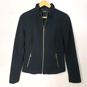 Tahari Small Black Spring Jacket